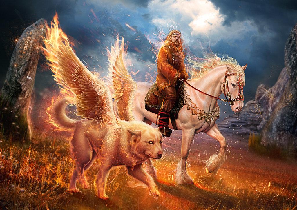 14 апреля день ОгнеБога  Воронец (Вороний праздник) Vasyli10