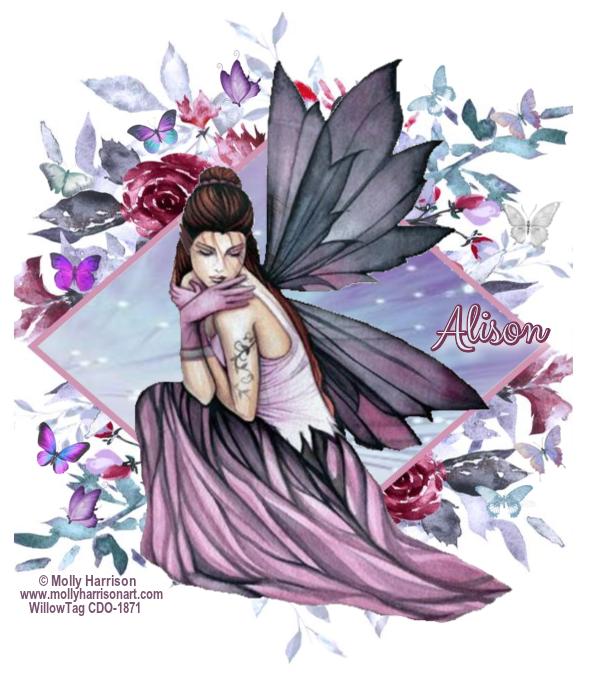 Pressies for AlisonNetty Alison18