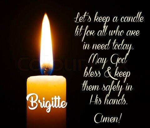 AN UPDATE FROM RUTH'S DAUGHTER Prayer85