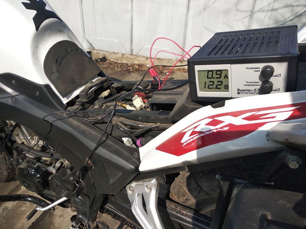 Мой первый мотоцикл... Zongshen RX3...открытие мотосезона 2019 Img_2023
