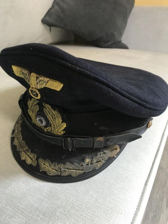 Casquette Officier Kriegsmarine  3ba59e10