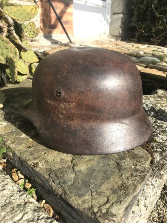 Coque de casque Luftwaffe sorti en Bretagne  58279910