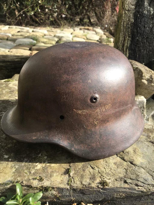 Coque de casque Luftwaffe sorti en Bretagne  773b9a10