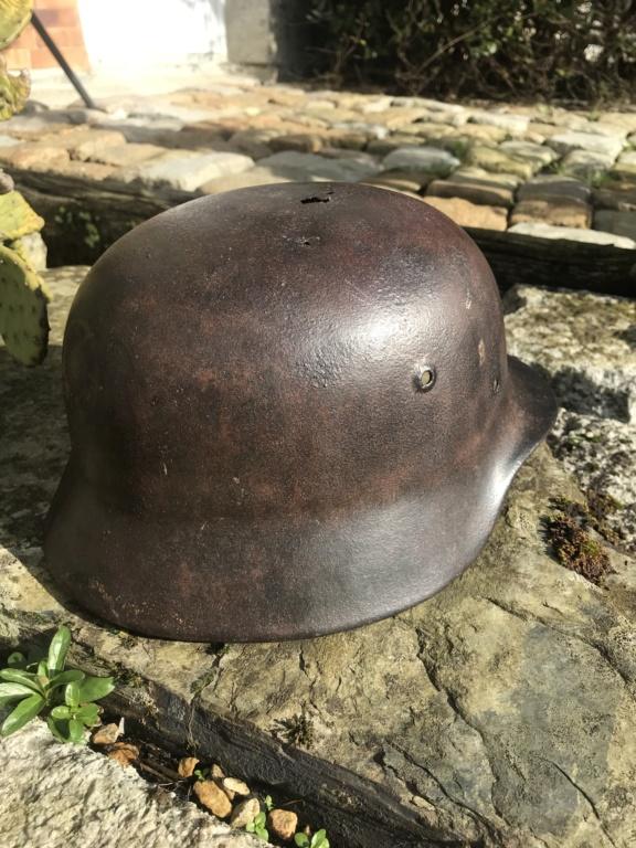 Coque de casque Luftwaffe sorti en Bretagne  807b9110