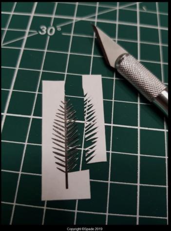 Pas à pas - La confection d'un palmier 1/72e 211
