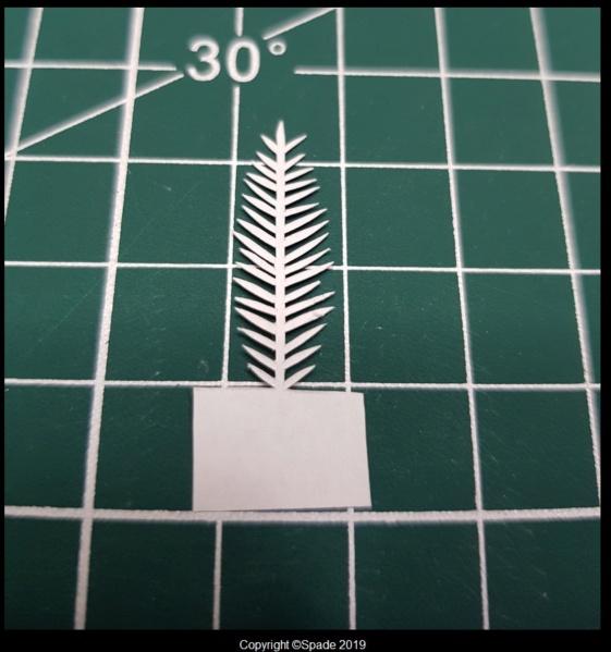Pas à pas - La confection d'un palmier 1/72e 411