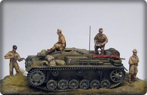 Octobre 1942 - Panzer IV ausf F1 en afrique du nord - Terminé 45620110