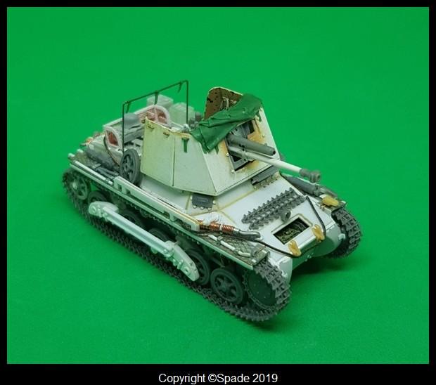 Panzerjäger 4,7 cm(t) Auf. Panzer I B - Scratch - Base ESCI  - MONTAGE TERMINE - Page 4 Smarts64