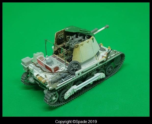 Panzerjäger 4,7 cm(t) Auf. Panzer I B - Scratch - Base ESCI  - MONTAGE TERMINE - Page 4 Smarts67