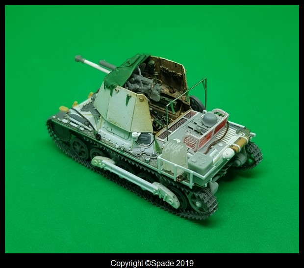 Panzerjäger 4,7 cm(t) Auf. Panzer I B - Scratch - Base ESCI  - MONTAGE TERMINE - Page 4 Smarts68