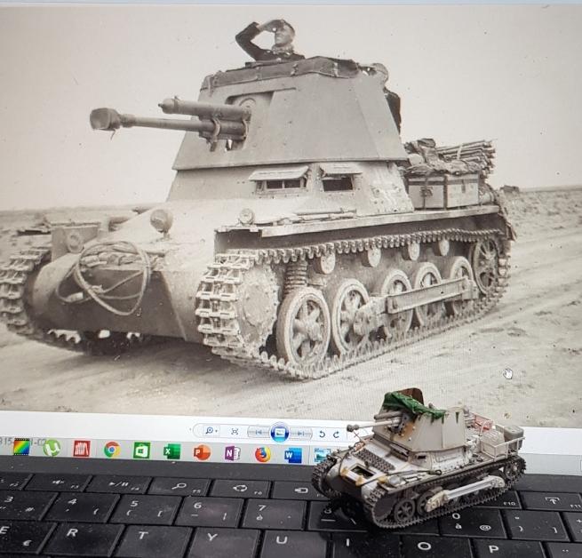 Panzerjäger 4,7 cm(t) Auf. Panzer I B - Scratch - Base ESCI  - MONTAGE TERMINE - Page 4 Smarts69