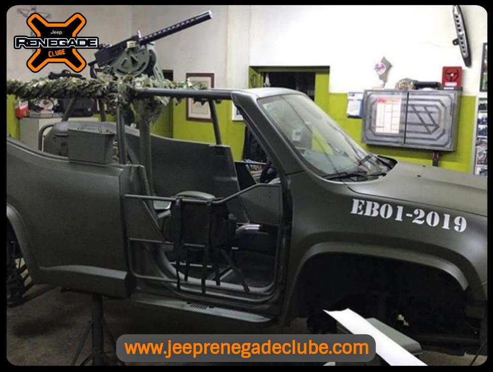 Jeep Renegade versão militar. 08_11_16