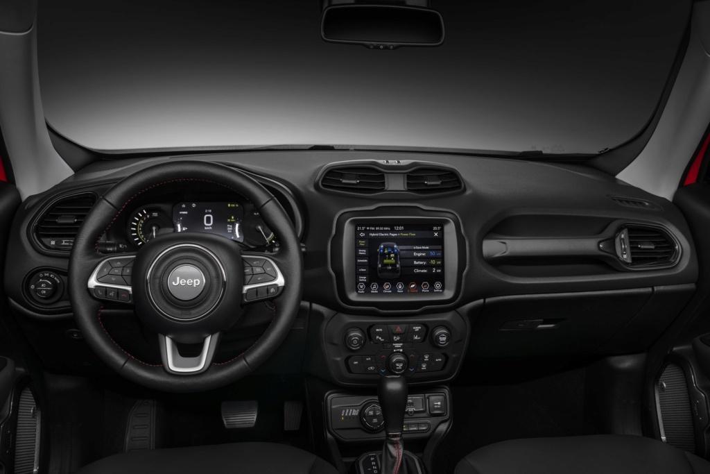 Jeep Renegade e Compass estreiam configuração híbrida com recarga pela tomada 19030515