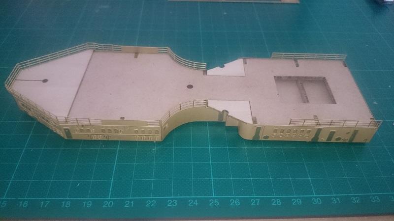 DKM Scharnhorst 1:200 Hachette gebaut von Brandti - Seite 5 Dsc_2636