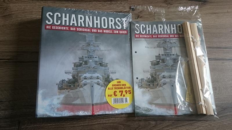 DKM Scharnhorst 1:200 Hachette gebaut von Brandti - Seite 5 Scharn10