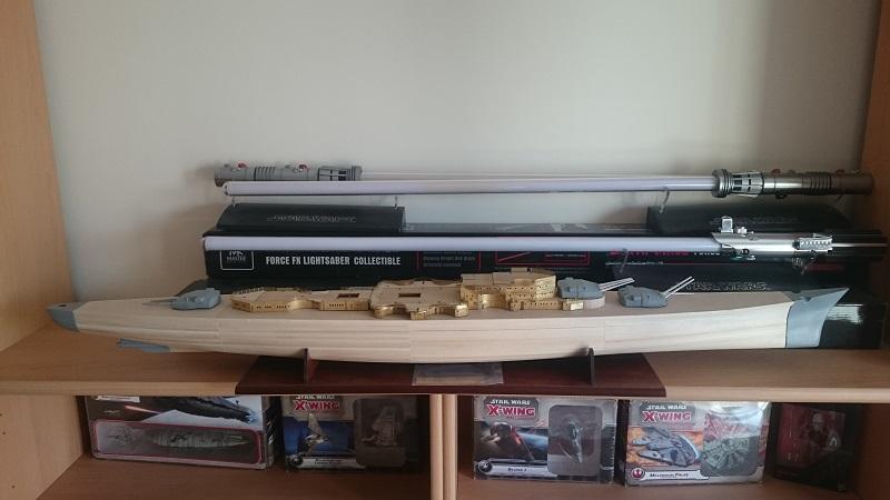DKM Scharnhorst 1:200 Hachette gebaut von Brandti - Seite 6 Scharn33