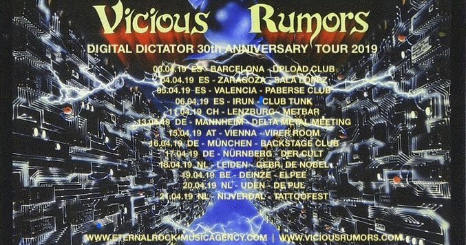 Agenda de giras, conciertos y festivales Viciou10