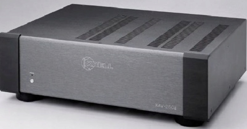 Krell KAV-250a 3ch Power Amp (USED) Dims10