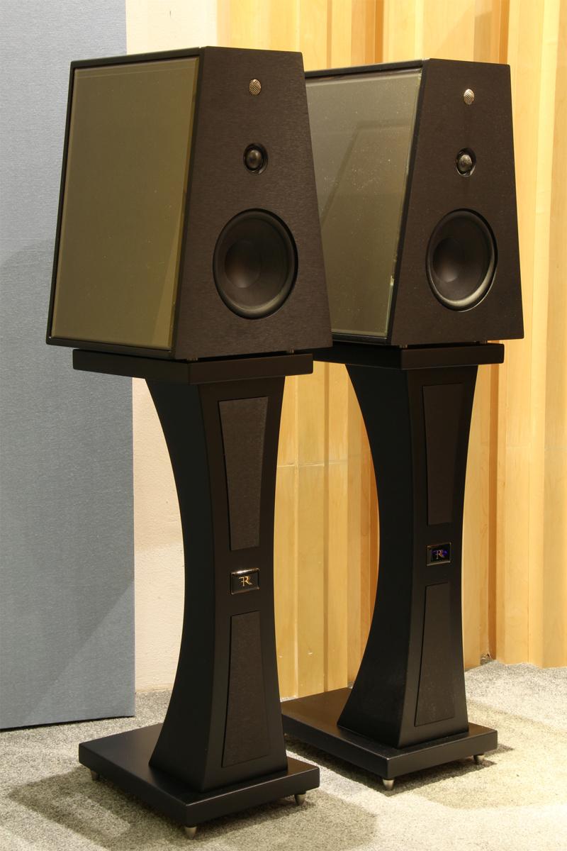 Rosso Fiorentino Fiesole bookshelf speakers (USED) Img_9814