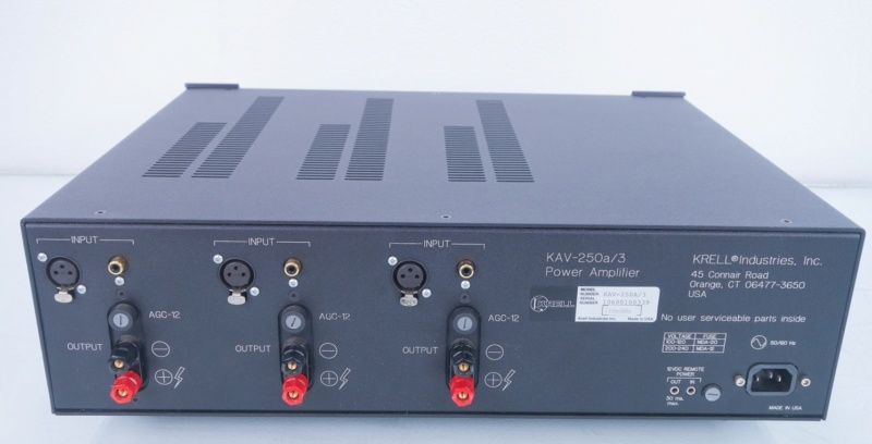 Krell KAV-250a 3ch Power Amp (USED) Krell-10