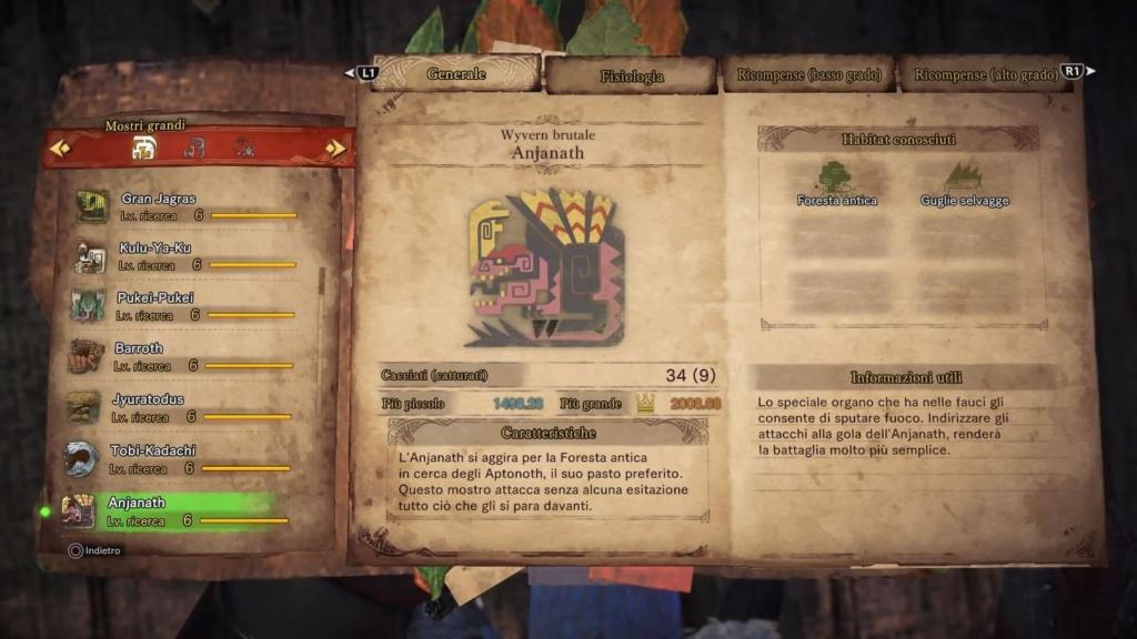 Guida a Monster Hunter World: Il Biologo 43951810
