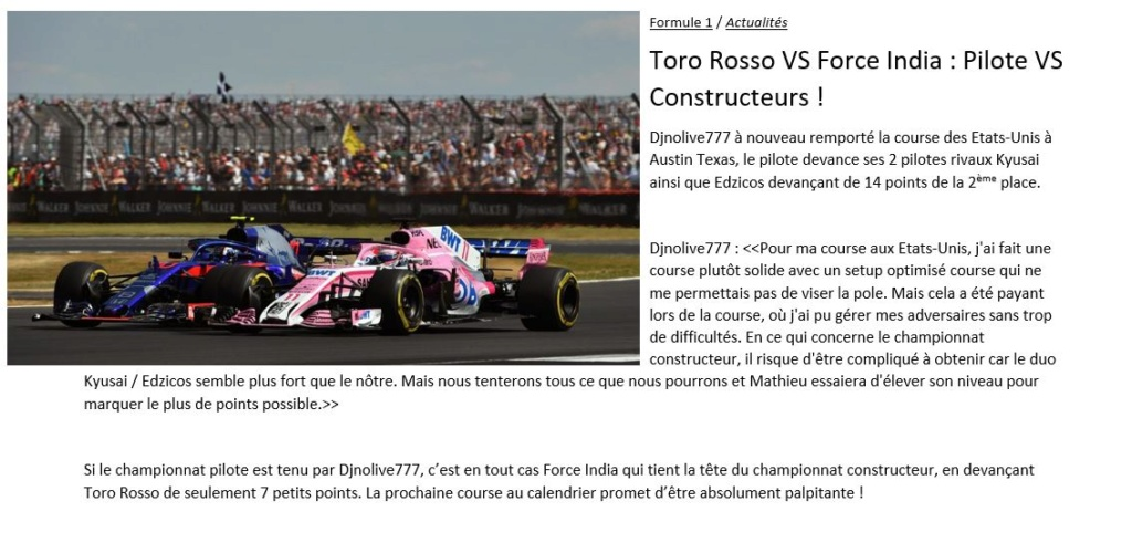 F1RS ⠂Racing Series - Accueil Ligue_18