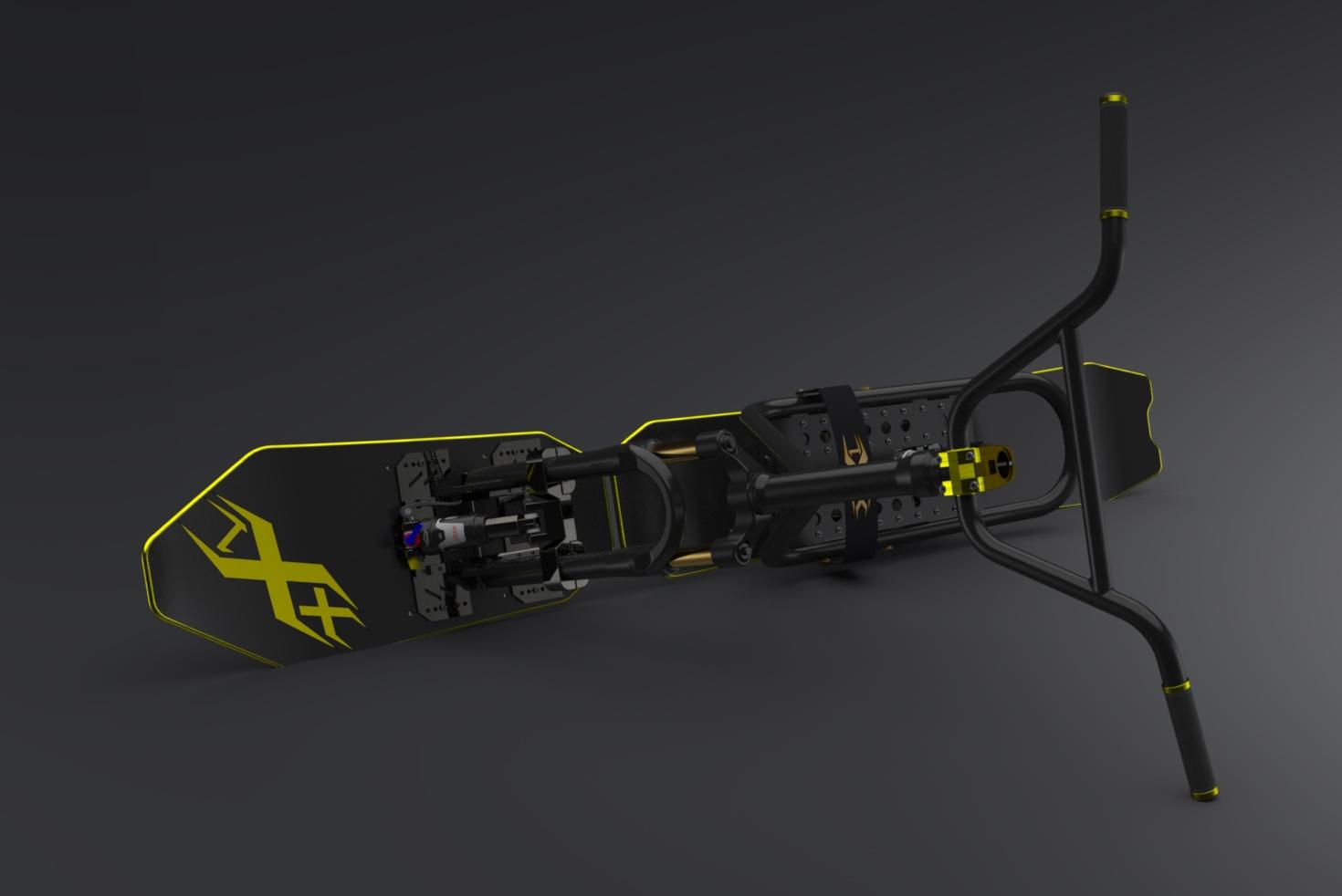 """SnowScoot Black Jack 21 """"Race & X-Race"""" - Nouveauté annoncée. Bljk2111"""