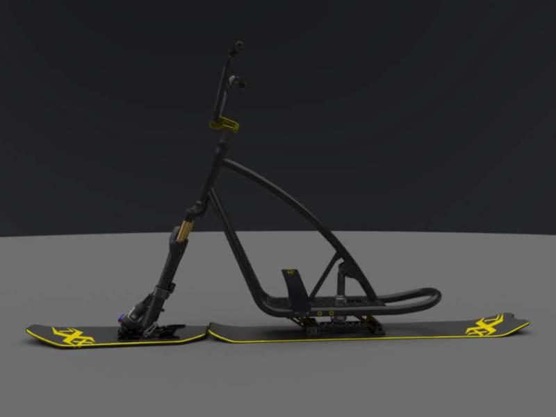 """SnowScoot Black Jack 21 """"Race & X-Race"""" - Nouveauté annoncée. Bljk2112"""