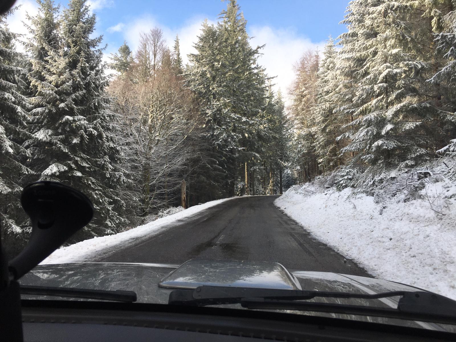 2020/03 - Compte-rendu Stage découverte SnowScoot - Lac Blanc (Vosges 88). Lac_bl12