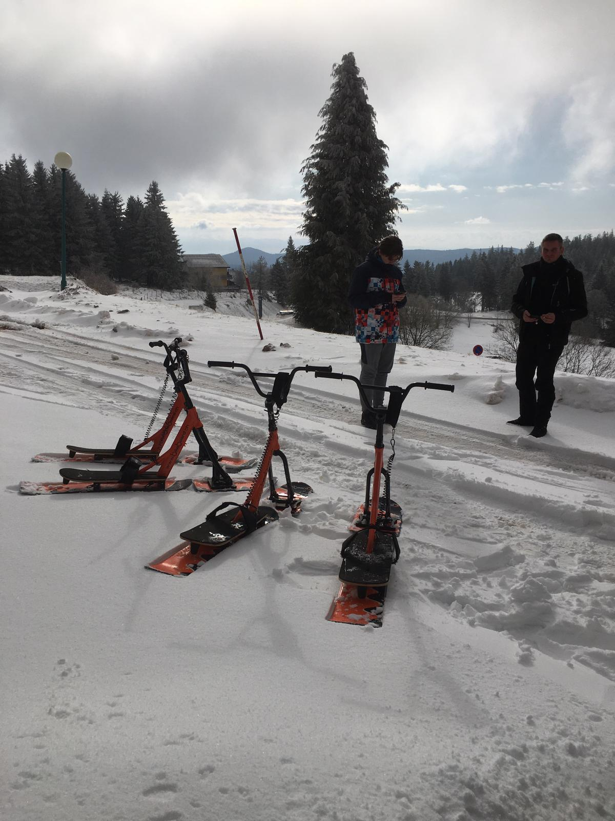 2020/03 - Compte-rendu Stage découverte SnowScoot - Lac Blanc (Vosges 88). Lac_bl17