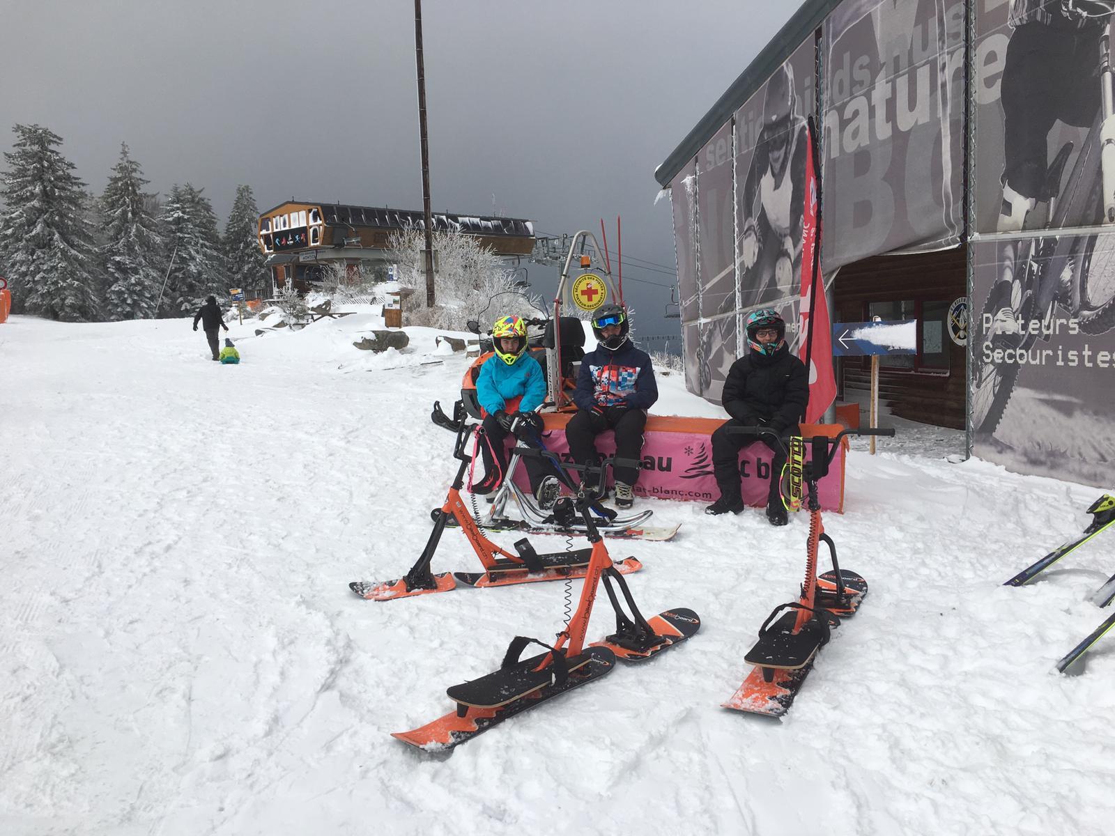 2020/03 - Compte-rendu Stage découverte SnowScoot - Lac Blanc (Vosges 88). Lac_bl21