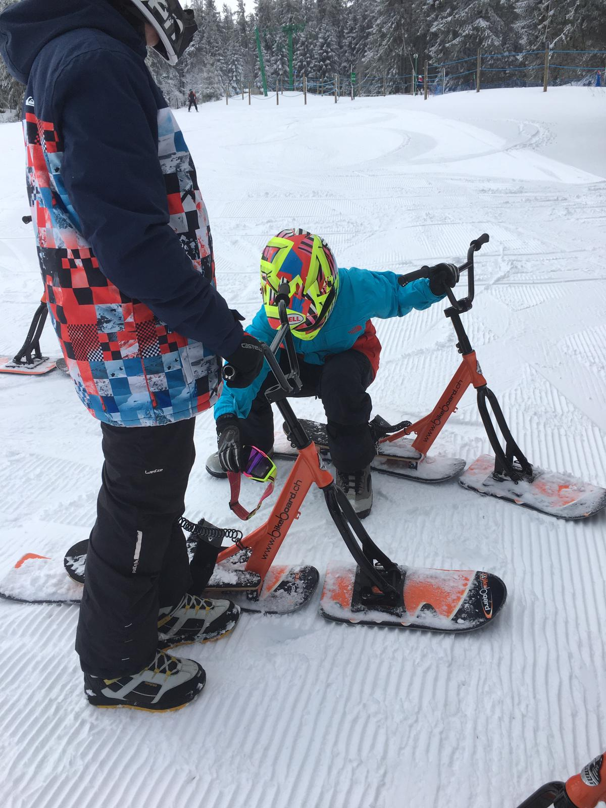 2020/03 - Compte-rendu Stage découverte SnowScoot - Lac Blanc (Vosges 88). Lac_bl22