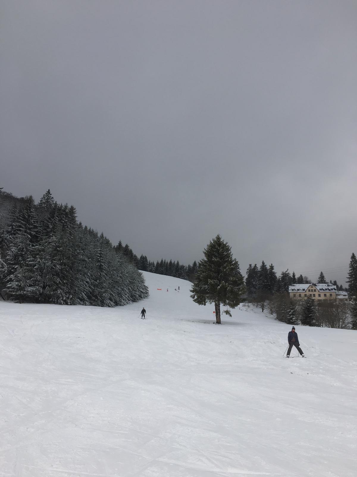2020/03 - Compte-rendu Stage découverte SnowScoot - Lac Blanc (Vosges 88). Lac_bl23