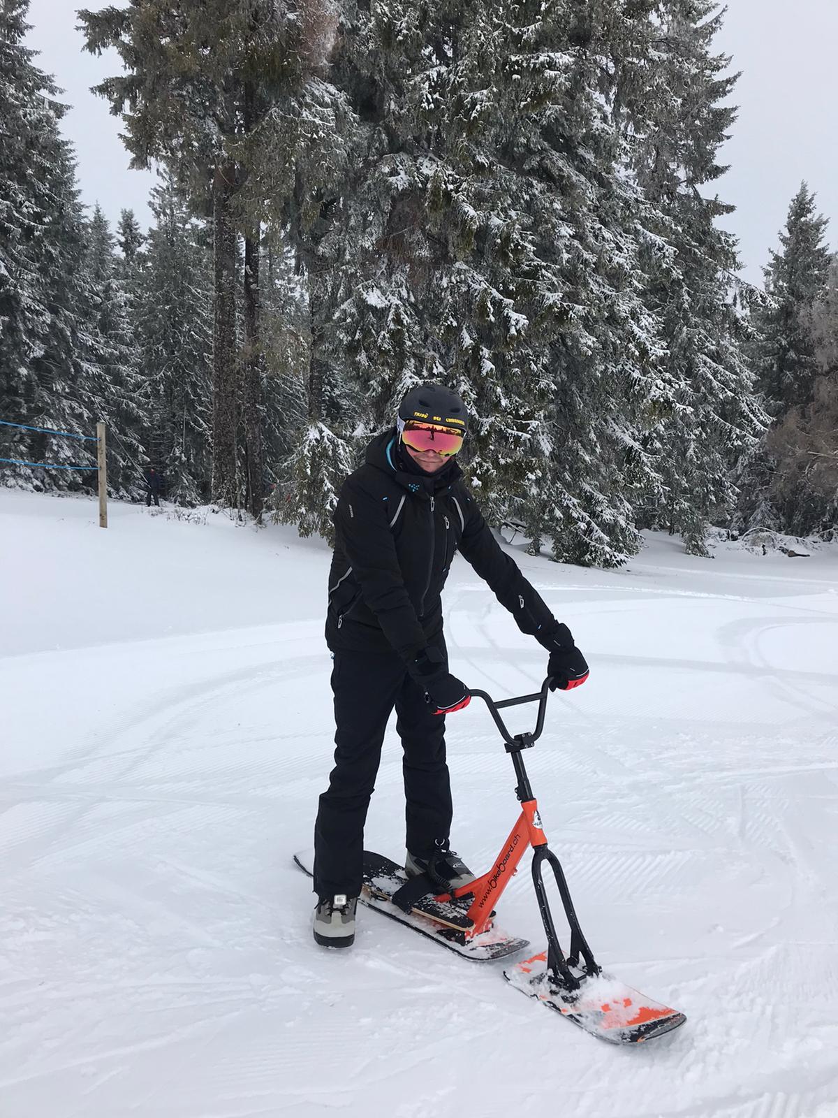 2020/03 - Compte-rendu Stage découverte SnowScoot - Lac Blanc (Vosges 88). Lac_bl27