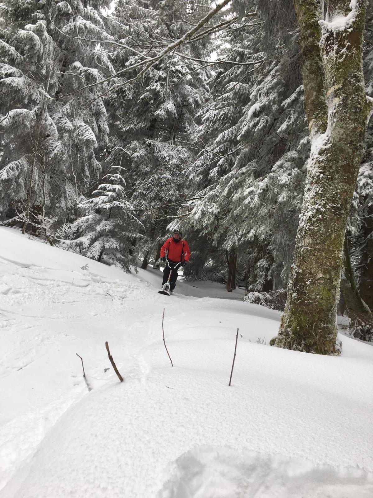2020/03 - Compte-rendu Stage découverte SnowScoot - Lac Blanc (Vosges 88). Lac_bl40