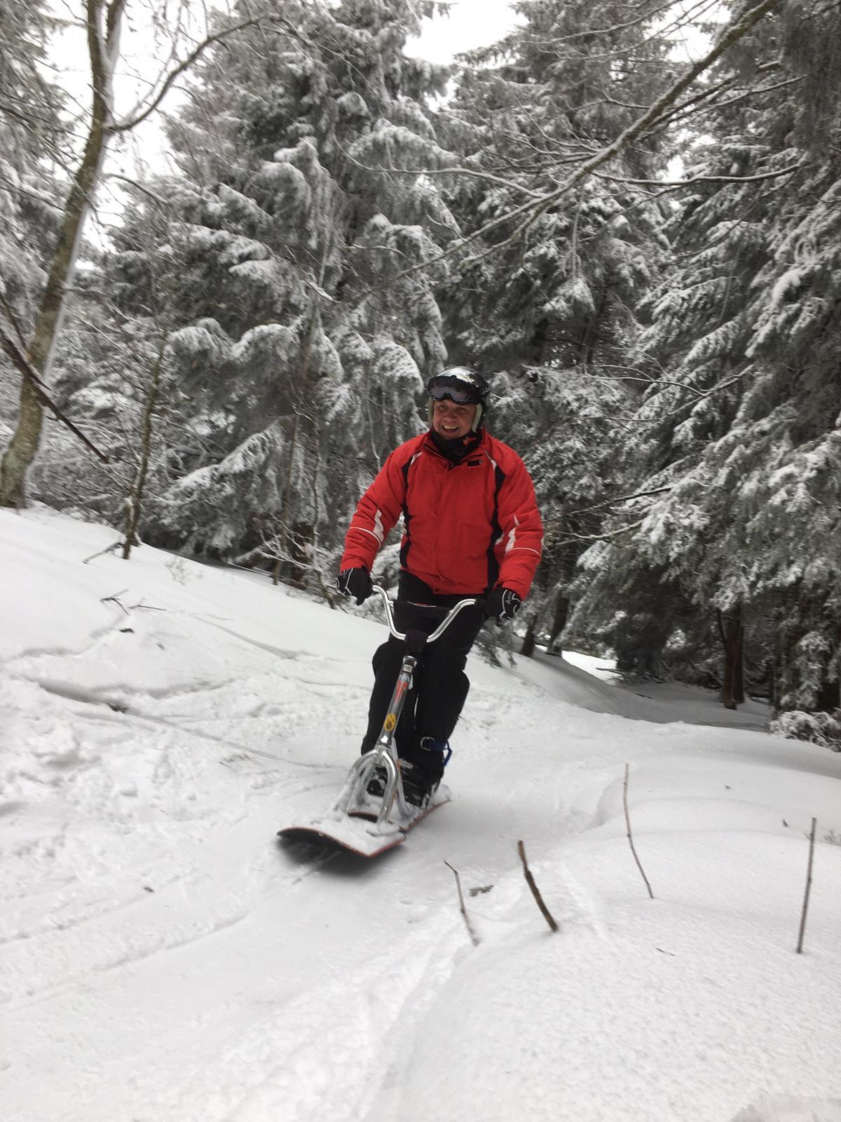 2020/03 - Compte-rendu Stage découverte SnowScoot - Lac Blanc (Vosges 88). Lac_bl42