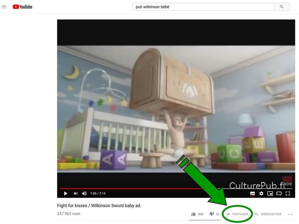 """Insérer une vidéo """"YouTube"""" dans un message. Lienvi12"""