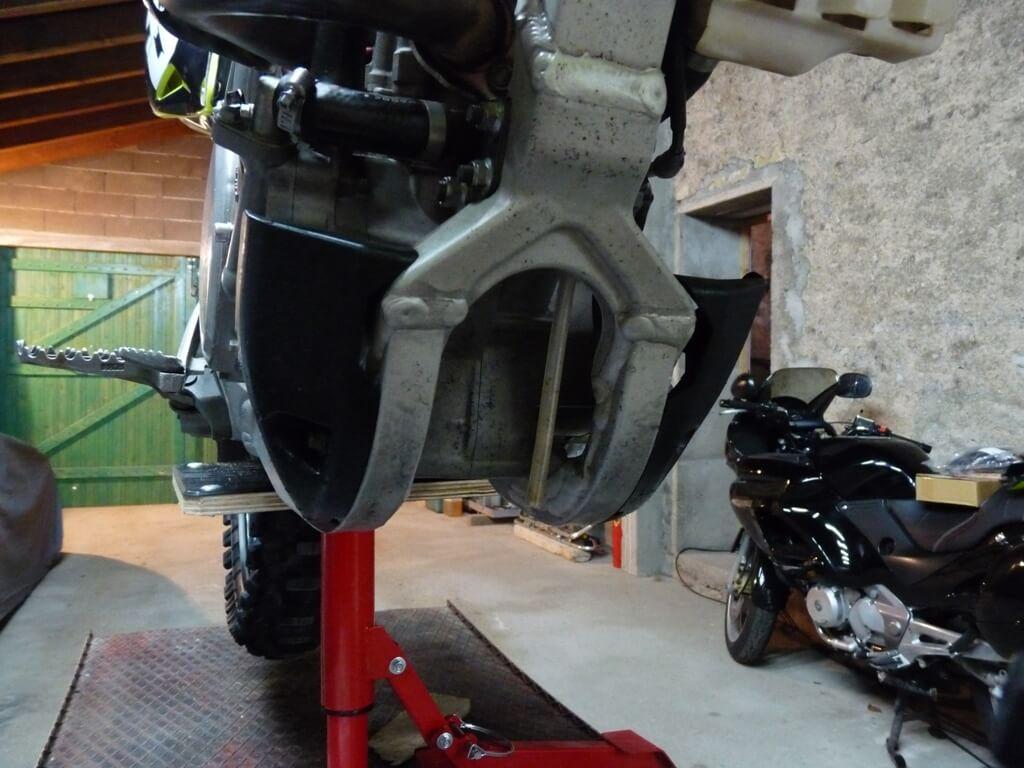 Montage d'un sabot moteur. Sabot011