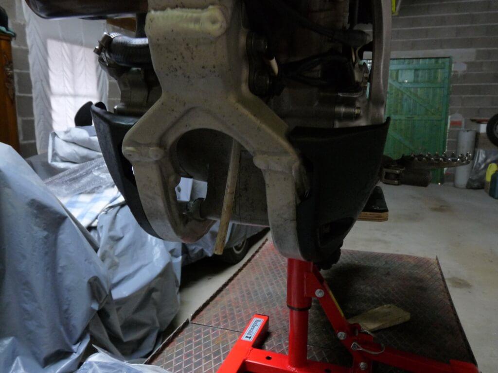 Montage d'un sabot moteur. Sabot013