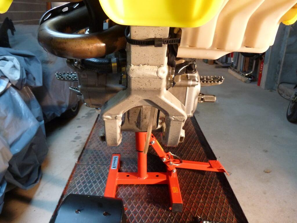 Montage d'un sabot moteur. Sabot016
