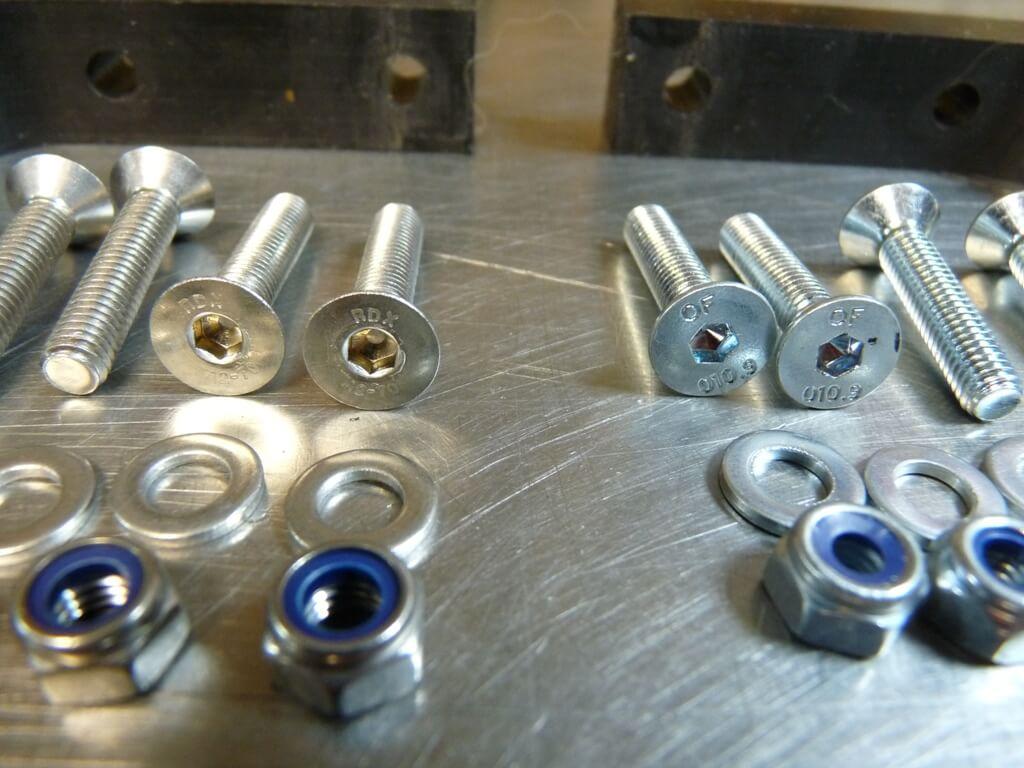 Montage d'un sabot moteur. Sabot019