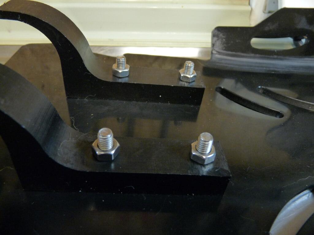 Montage d'un sabot moteur. Sabot024
