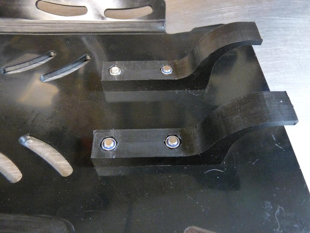 Montage d'un sabot moteur. Sabot032