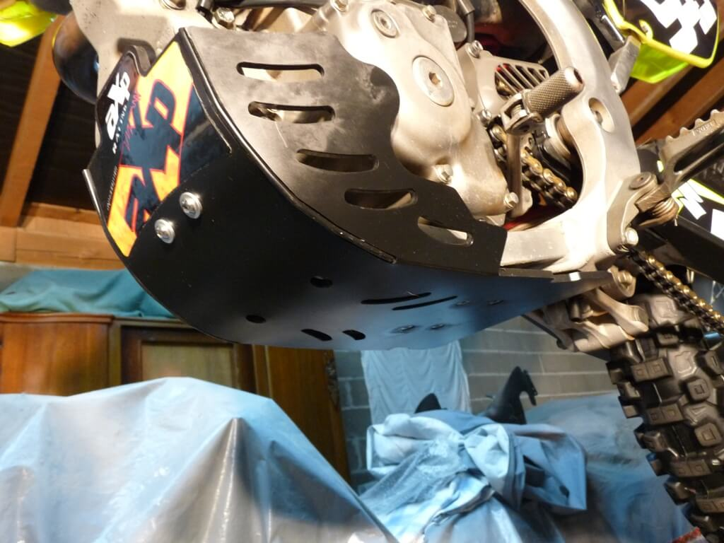 Montage d'un sabot moteur. Sabot048