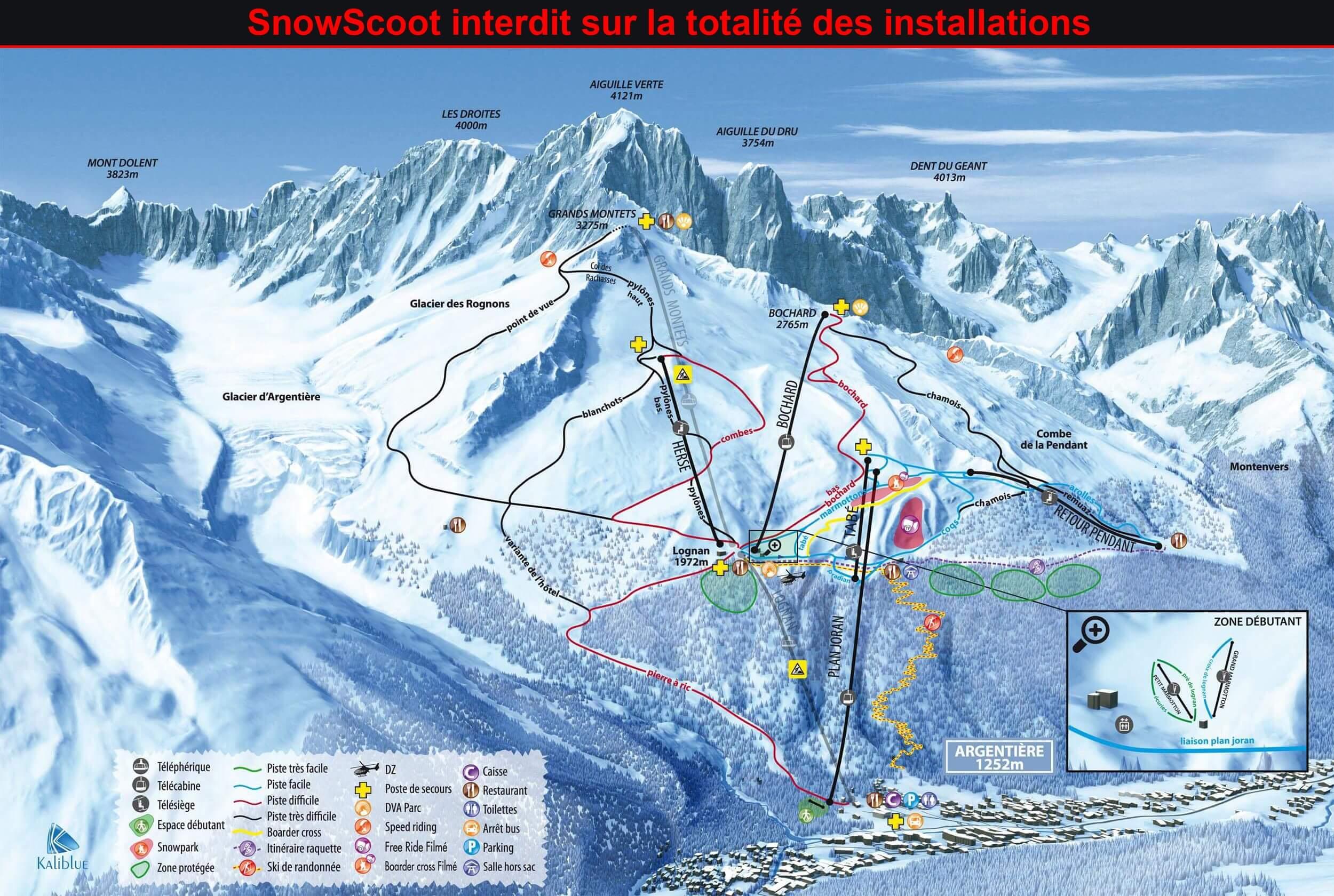 74 - Argentiere - Grands Montets. Snows_26