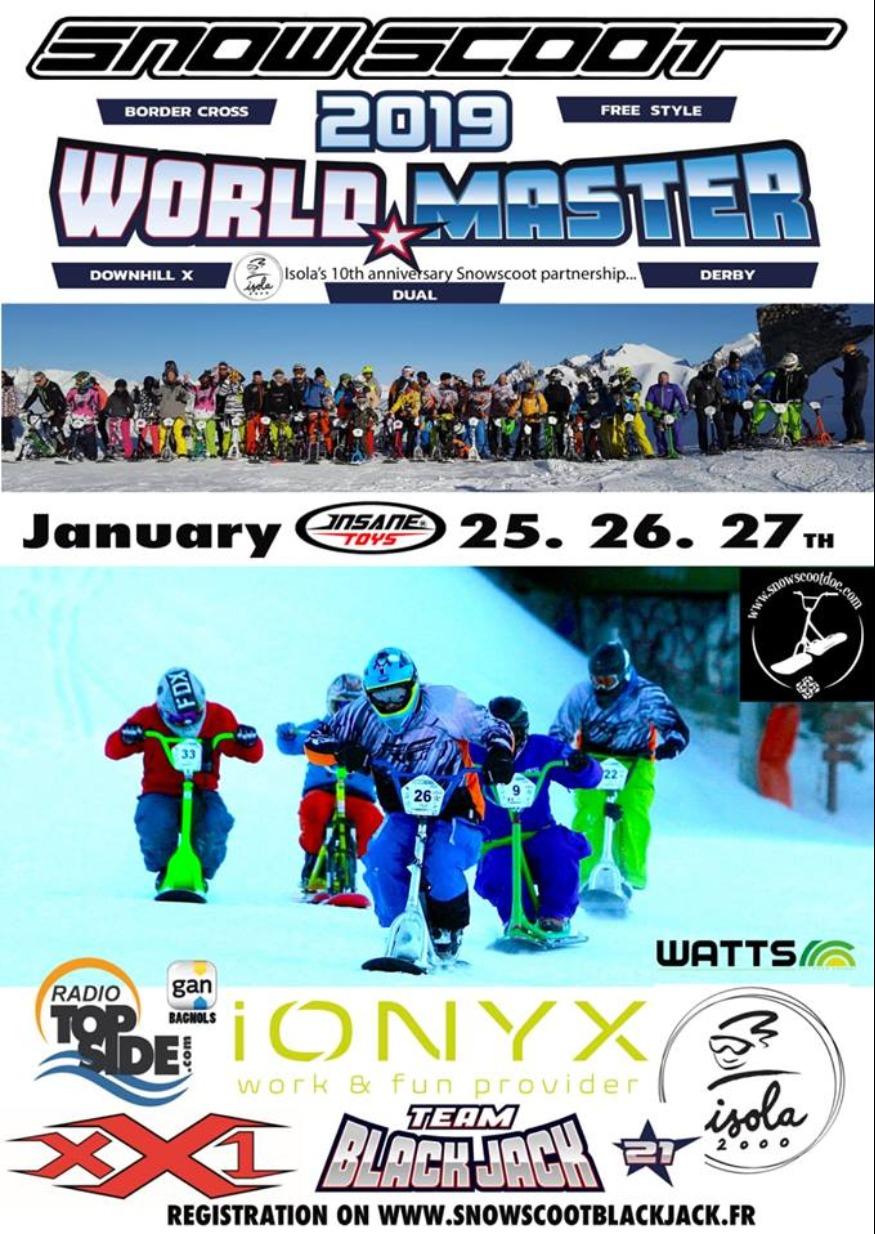 Le Snowscoot Worlds d'Isola 2000 - 25, 26 et 27 Janvier 2019  Snowsc10