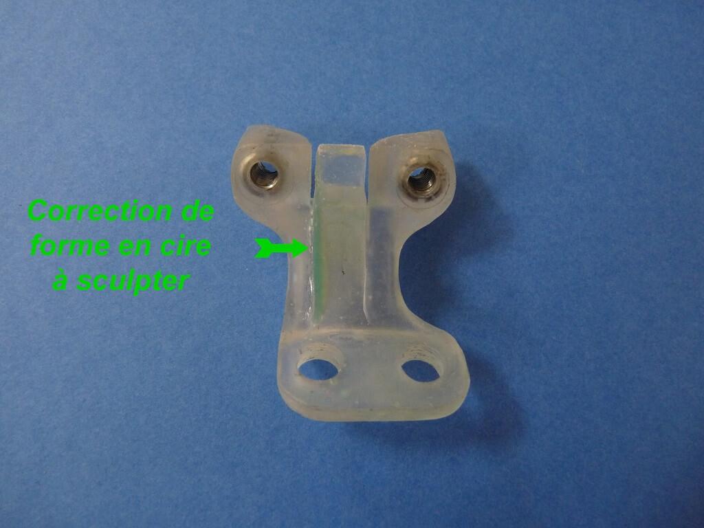 Remise en état des fixations de protection de tube de fourche. Supf0212