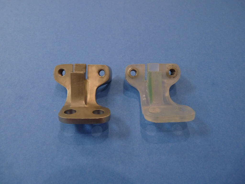 Remise en état des fixations de protection de tube de fourche. Supf0515