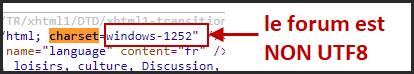 Nouveau : Possibilité d'encoder votre forum intégralement en UTF-8 12-02-16
