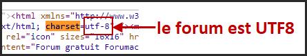Nouveau : Possibilité d'encoder votre forum intégralement en UTF-8 12-02-17